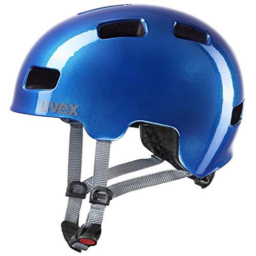 Uvex Unisex Jugend, hlmt 4 Fahrradhelm, blue, 55-58 cm