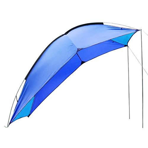 DOLA Kit de refugio impermeable para toldo de coche, camper, toldo de coche, resistente al agua, peso ligero, para camioneta, camión, camioneta, Hatchback, minivan, sedán, camping, B