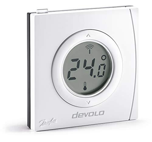 Komfort-Heimnetzwerk Devolo Home Control – Set mit 1 Stück, weiß, Home Control Thermostat d'ambiance