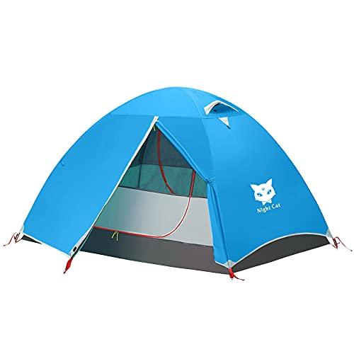 Night Cat Tenda Da Campeggio Per 1 2 Persona Uomo Tenda Da Zaino Impermeabile Facile Installazione Leggera Per Escursionismo Nel Cortile