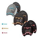 ZAOSU Handpaddles   Unisex Schwimmpaddles für Triathleten & Schwimmer, Größe:M