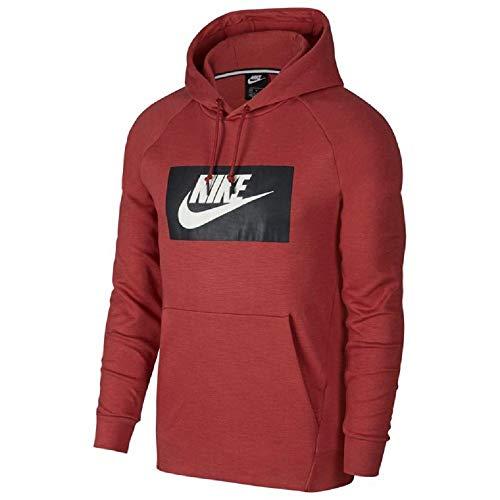 Nike Herren NSW Optic Hoodie Po Gx T-Shirt, Gelb (Cedar), (Herstellergröße: Large)