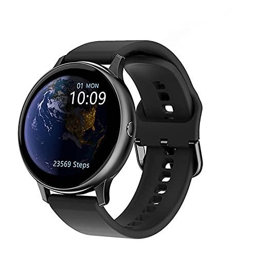 ZGZYL Smartwatch Lady, Presión Arterial Monitor De Ritmo Cardíaco Sangre Oxygen Smart Watch Smart Watch Rastreador De Fitness (para Niños, Niñas), Compatible con Android iOS Smart Watch,A