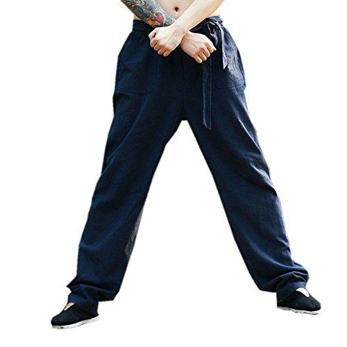KATUO -  Pantaloni - Uomo Blue Medium