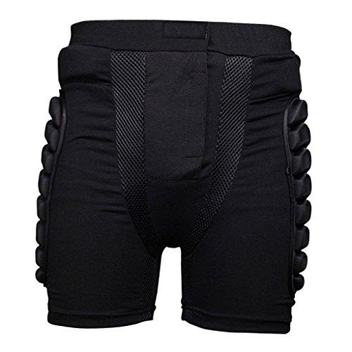 Ski Hip Butt Pantalon de Protección Snowboard Moto Motocross Homme - Negro 4