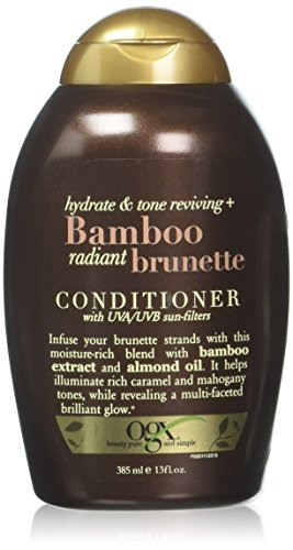OGX Bamboo Radiant Brunette Conditioner, 13 Ounce...