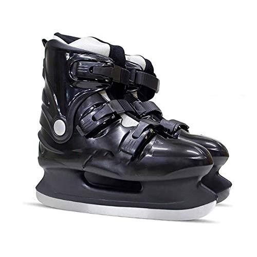 ZYF Eiskunstlauf Schlittschuhe Schlittschuhe 600h Schlittschuhe Hard Boot Eishockey Schuhe Erwachsene Kind Schlittschuhe Professionelle Hockey Messer Schuhe Echte Schlittschuhe