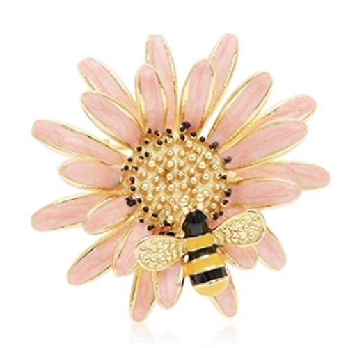 WYBFZTT-188 Abbigliamento Spilla femminile di fascia alta crisantemo Bee Lady pin pin spilla collare femminile Piccolo Fragrance (Color : B)