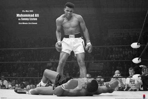 1art1 39065 Muhammad Ali - Vs. Sonny Liston VI Poster 91 x 61 cm