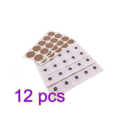 12 Sheets(120 Magnet) Magnetic Acupressure Patches 600 Gauss,Effective for Back, Neck Knee Arthritic Pain with Magnetic Therapy