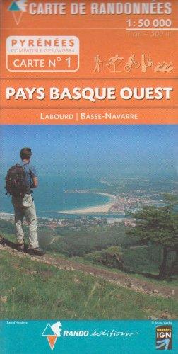 PAYS BASQUE OUEST 1/50.000