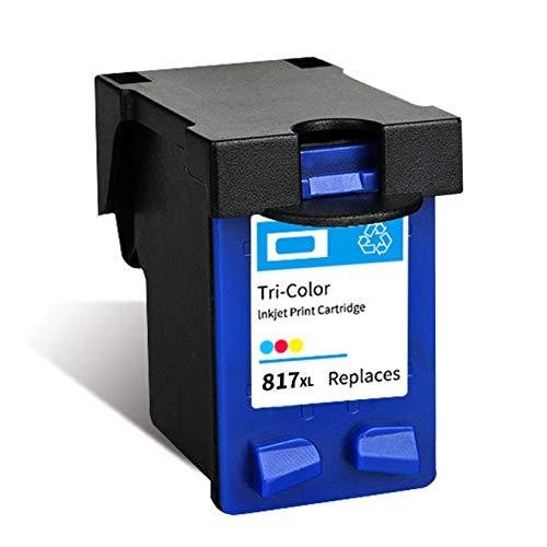 Cartucho de tinta 816 817, repuesto para impresoras HP Deskjet 3938 2238 F388 F2288 Officejet 4308 Photosmart 7260 PSC 1110, color negro y tricolor