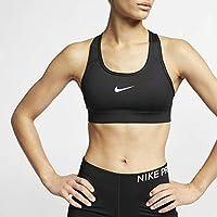 Nike Sport-BH Pro Victory Compression, Sujetador deportivo para mujer, Negro (Black/White 010), L