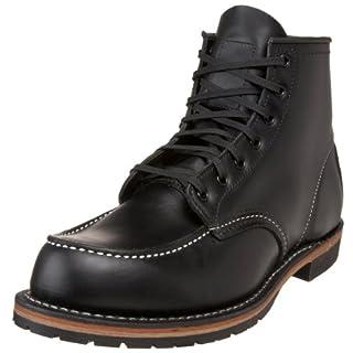 Red Wing Heritage Men's 6-Inch Beckman Moc Toe Boot,Black,10 D(M) US (B002HSU490) | Amazon price tracker / tracking, Amazon price history charts, Amazon price watches, Amazon price drop alerts