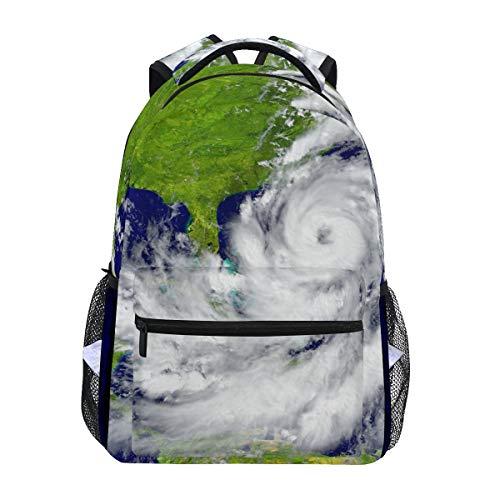 Student Storm Forecast Mochilas para Colegio, Viajes, Senderismo, Camping, Mochila para niño para niña | 16 x 12 x 6 Pulgadas | con Capacidad para portátil de 15.4 Pulgadas