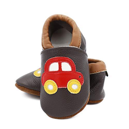 Vesi-Zapatos Suaves para bebé Primeros Pasos Zapatillas Infantiles para Niño/Niña Antideslizante Respirable...