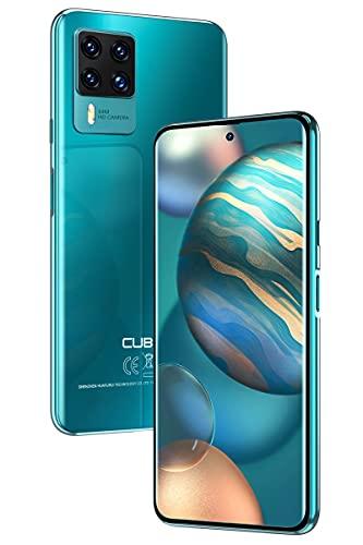 CUBOT X50 Smartphone senza contratto, 6,7 pollici, Android 11, 64 MP, 8 GB di RAM, 128 GB di ROM, batteria 4500 mAh, Dual SIM, NFC, versione globale, verde