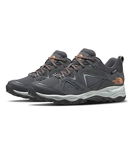The North Face Women's Trail Edge WP, Zinc Grey/Cantaloupe, 9.5