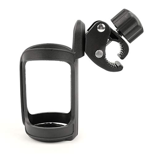 DURAGADGET Anti-Shake Sturdy Hands-Free Cup Holder Mount with Adjustable Grip (Black) - Compatible with COLORWAY Foldable Electric Scooter for Adults