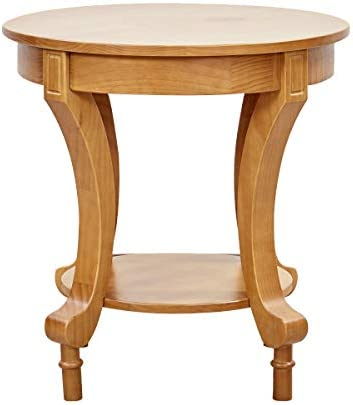 Best Amazon Brand – Ravenna Home Traditional Solid Pine End Table, 24