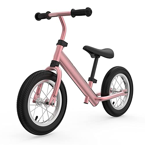 Women's Health Icicleta de Equilibrio, Bicicleta para Caminar, Bicicleta Sin Pedales, First Bike para Niños, Niños Pequeños Pedales Juguetes, Bicicletas Sin Pedales para Niños, 12 Pulgadas