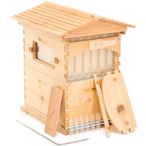 Flow Hive Classic - Cedar 6 Frame Bee Hive With Patented Flow Frames...