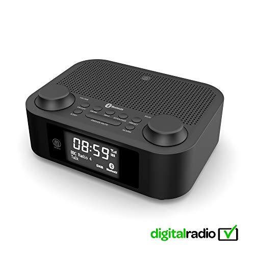 Majority Fulbourn II DAB/DAB+/UKW Digital-Radio - Bluetooth Wireless - Uhrenradio - Dualer...