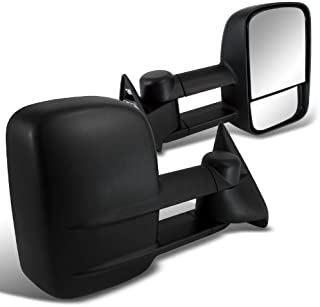 SPEC-D TUNING RMX-C1088-P-FS Chevy Ck 1500 Ck 2500 3500 Black Power Towing Side Mirrors Tahoe