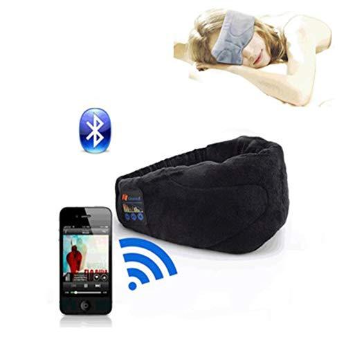 Bluetooth Goggles, Slaap Oortelefoon, Bluetooth Koptelefoon, Draadloze Koptelefoon, Ademend Multi-Function Bluetooth-Audible Music Rest,2