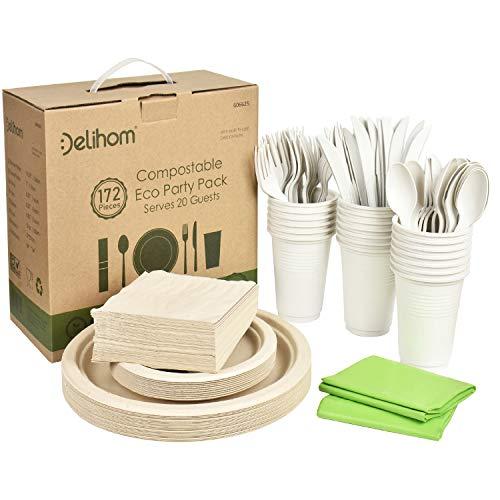 Eco-friendly dinnerware