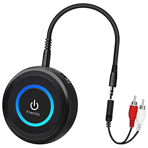 Friencity Bluetooth 5.0 Transmitter Receiver for TV