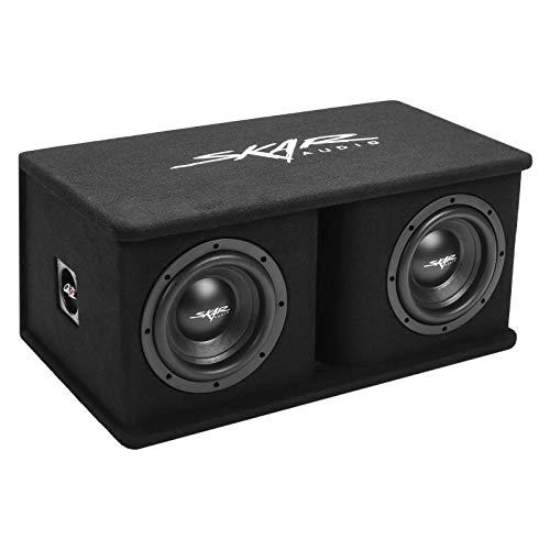 "Skar Audio Dual 8"" 1400W Loaded SDR Series Vented Subwoofer Enclosure | SDR-2X8D4"