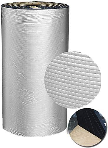 Cubierta de aislamiento de aislamiento de tubería para la protección de congelación, bloqueos de aislamiento con respaldo de lámina en calor y reduce la pérdida de radiación de calor de desperdicio en