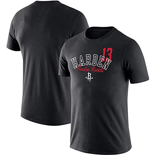 HuLi-Outdoor Camiseta Hombre Houston Rockets James Harden Training Sports Comfort Tops Camiseta de Baloncesto S-3XL