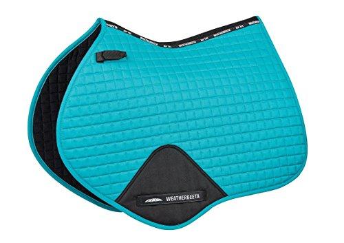 Weatherbeeta Prime Jump Shaped Saddle Pad Turquoise Full