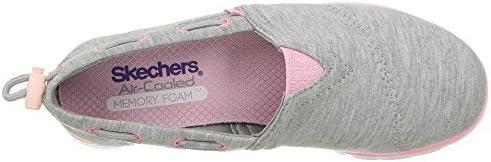 Skechers Girls' Pureflex Heather Happy Alpargata