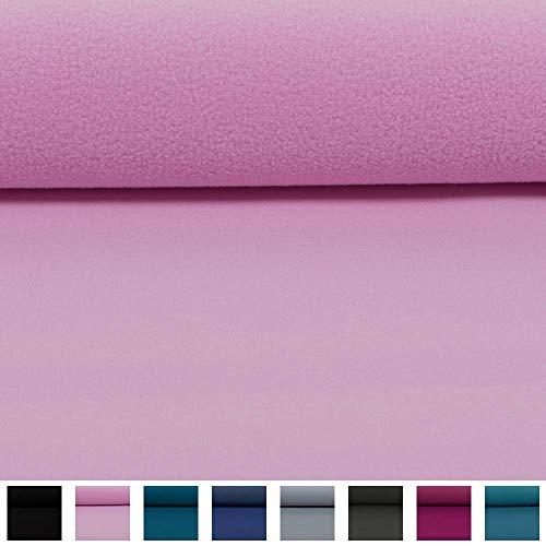 Swafing Wasserabweisender Nano Softshell Programm Lenny rosa (25cm x 140cm)