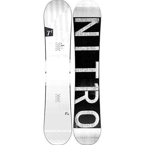 Nitro Snowboards Herren T1 Wide BRD'19 Premium Twin Camber Freestyle Boards, Mehrfarbig, 152
