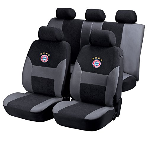 Autositzbezug + gratis Sticker, FC Bayern München FCB, Car Seat Cover