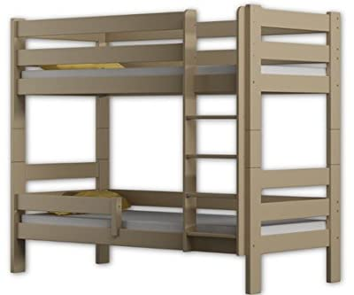 WNM Group Bunk Bed Sophie, two sleeper, pine wood bed frame 160x80