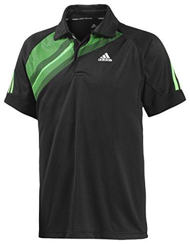 adidas TT Atake Polo M (schwarz/grün, S)