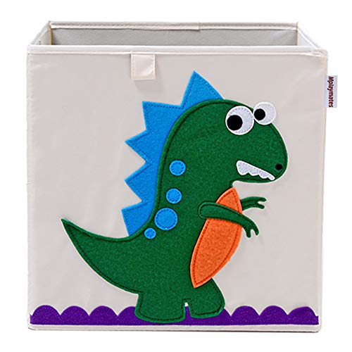 PRECIS Spielzeugkiste, waschbare Spielzeug-Aufbewahrungsbox (Dinosaurier)