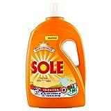 Sole Detergente líquido para lavadora, higiene y frescura, 37 lavados – 1900 g