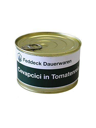 Fertiggericht Dose Cevapcici mit Tomatenreis, 400 g