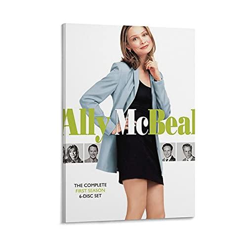Ally McBeal Cadre à suspendre pour poster de film 50 x 75 cm