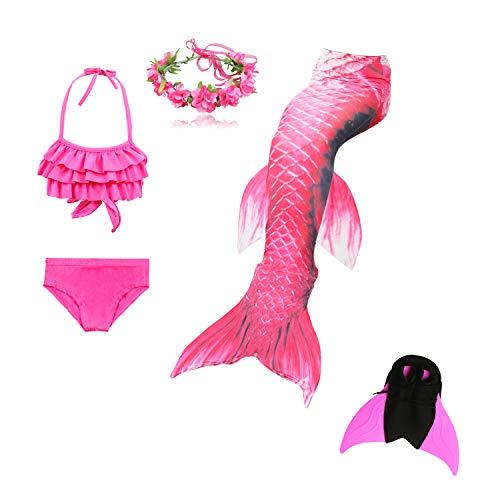 Lee Little Angel combinatie meisjes schoonheid visstaart badkleding driedelig + enkel + slinger