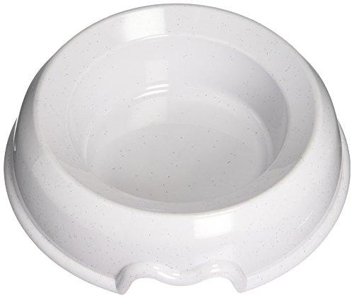 Nobby Mangeoire Antidérapante en Plastique pour Chien Blanc 1,6 L