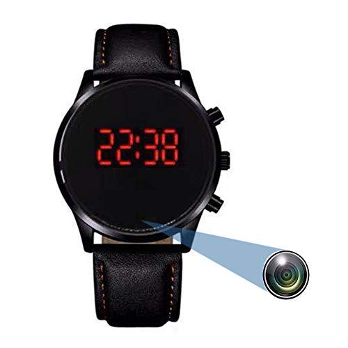 Intelligente Armband versteckte Kamera 1080P Sportuhr Mini-Videokamera mit Tracking-Schritten, Überwachung der Schlafqualität, tragbare Kamera des Überwachungsrekorders-D-64G