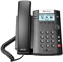 Polycom VVX 201 Two-Line VOIP Business Media Phone (2200-40450-001)