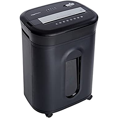 AmazonBasics 15-Sheet Cross-Cut Paper/CD/Credit Card Shredder